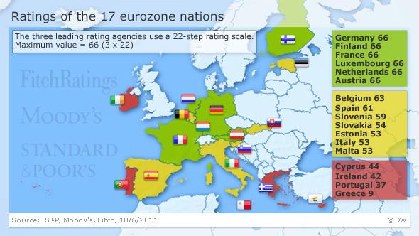 Eurozone Under Pressure To Find Solution To The Debt Crisis - Belgium eurozone map