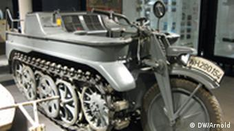 Fahrzeug aus dem 2. Weltkrieg Foto: DW