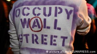 Occupy Wall Street Proteste in New York