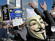 Protestas contra la globalización y el dominio del sistema financiero.