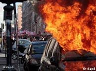 Διαμαρτυρίες στη Ρώμη εξαιτίας της οικονομικής κρίσης