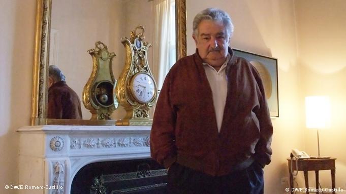 Der Präsident von Uruguay José Mujica beim Staatsbesuch in Deutschland