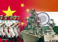 КНР и Индия активно вооружаются (фотомонтаж)