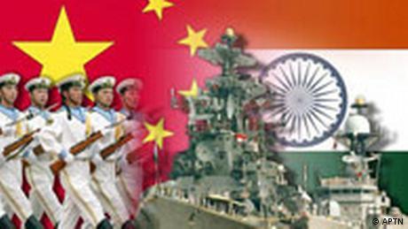 Symbolbild China Indien Militär (APTN)