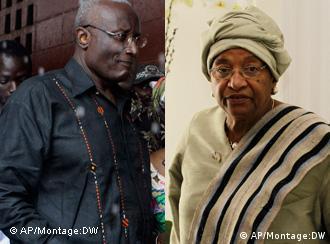 Winston Tubman und Ellen Johnson Sirleaf (Foto: AP)