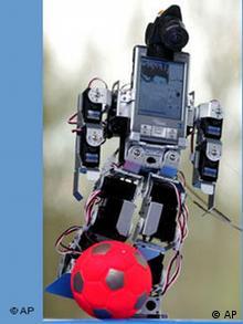 Roboter Fußball