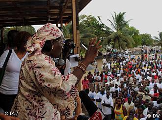 A oposição já se tinha manifestado na Libéria contra os resultados da primeira volta das presidenciais