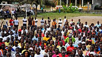 Um desafio urgente na Libéria, onde cerca de 80% da população está desempregada, é a criação de empregos
