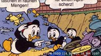 Comic: Donald Duck, 1. Bild