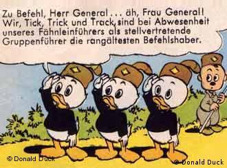 Huguinho, Zezinho e Luizinho: escoteiros como paródia nazista