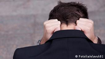 Symbolbild Angst Verzweiflung Trauer Hilfslosigkeit