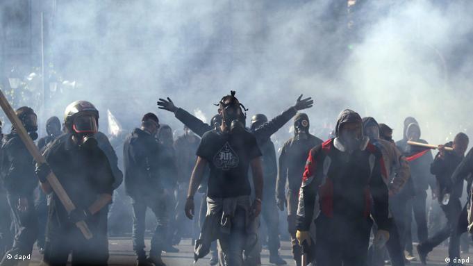 Flash-Galerie Griechenland Athen Proteste