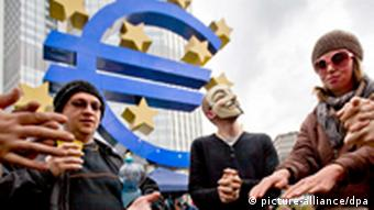 Frankfurt am Main EZB Occupy Wall Street