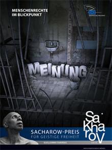 Plakat Sacharow-Preis für geistige Freiheit 2010