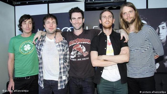 Flash-Galerie Maroon 5 (picture alliance/dpa)