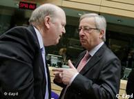 Ο Ιρλανδός υπουργός Οικονομικών Μάικελ Νούναν με τον πρόεδρο του Eurogroup