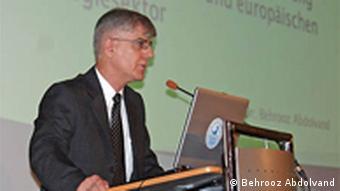 دکتر بهروز عبدالوند، هماهنگکنندهی مرکز تحقیقات حوزهی خزر در برلین