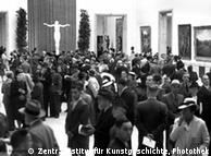 Alto número de visitantes: mostra em 1940