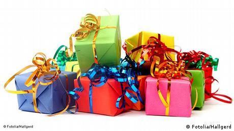 Symbolbild Geschenk Gewinn