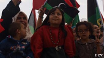 Libyans celebrating