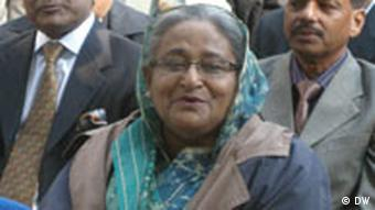 Sheikh Hasina in Berlin