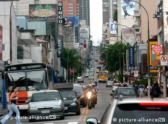São Paulo, metrópoli económica de Brasil