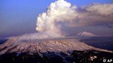 Vulkan Mount Sankt Helen Washington USA