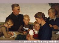'Família de agricultores de Kalenberg', por Adolf Wissel (1939)
