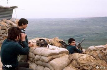 Bürgerkrieg in Libanon Sintani Fluss