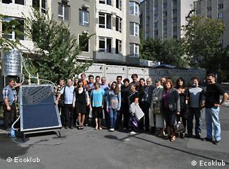 Учасники тренінгу з з альтернативної енергетики в Одесі