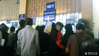 Menschen in einem vietnamesischen Krankenhaus (Foto: Vietnam Research and Training Center for Community Development