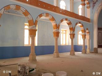 The building works in the synagogue