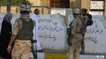 Security forces in Baghdad