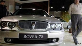 Rover Autohaus in Peking