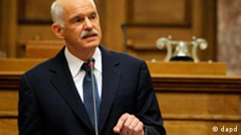 Krise in Griechenland George Papandreou