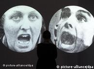 Trabalhos 'Augentauschen', de Heiner Blum