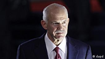 Frankreich Griechenland Finanzkrise Krisetreffen G20 Gipfel in Cannes George Papandreou geht