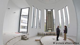 The synagogue interior