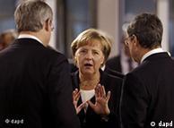 Ангела Меркель на саммите