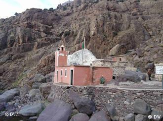 مقام ملك الجن شمهروش في منطقة إمليل بالمغرب