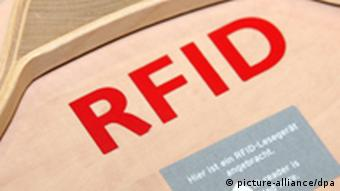 RFID stands for 'radio frequency identification'