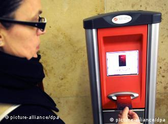 Prague's metro system uses the Opencard