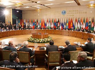 افزون بر شش کشور عضو، کشورهای دیگر نیز در اجلاس سازمان همکاری شانگهای سهم می گیرند. (عکس: آرشیف)