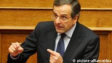 Main Greek opposition leader, Antonis Samaras