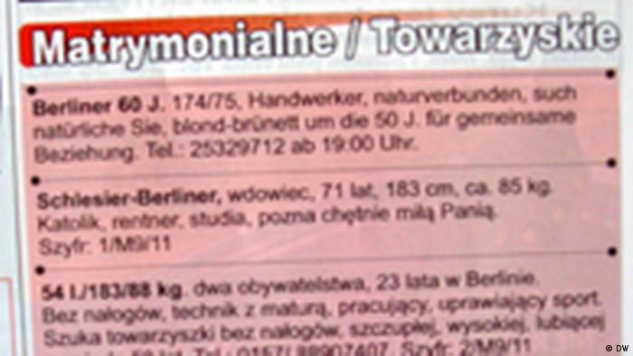 Niemcy matrymonialne Wódka