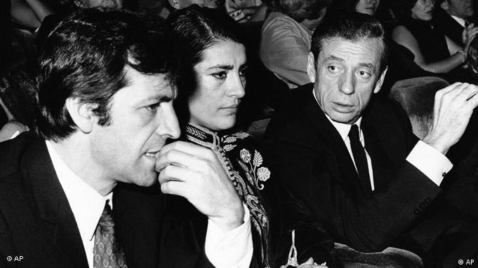 Costa-Gavras during the US premiere of Z in 1969 (AP)