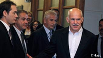 Griechenland Finanzkrise George Papandreou