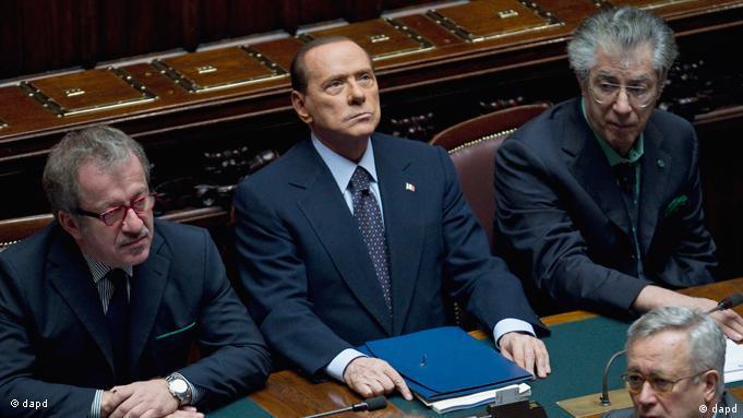 Silvio Berlusconi Flash-Galerie (dapd)