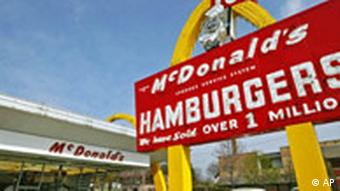 The site of the first McDonalds restaurant, opened by Ray Kroc in Illinois, USA in 1955.