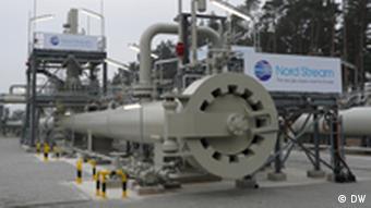 Конечная точка газопровода Северный поток в Германии
